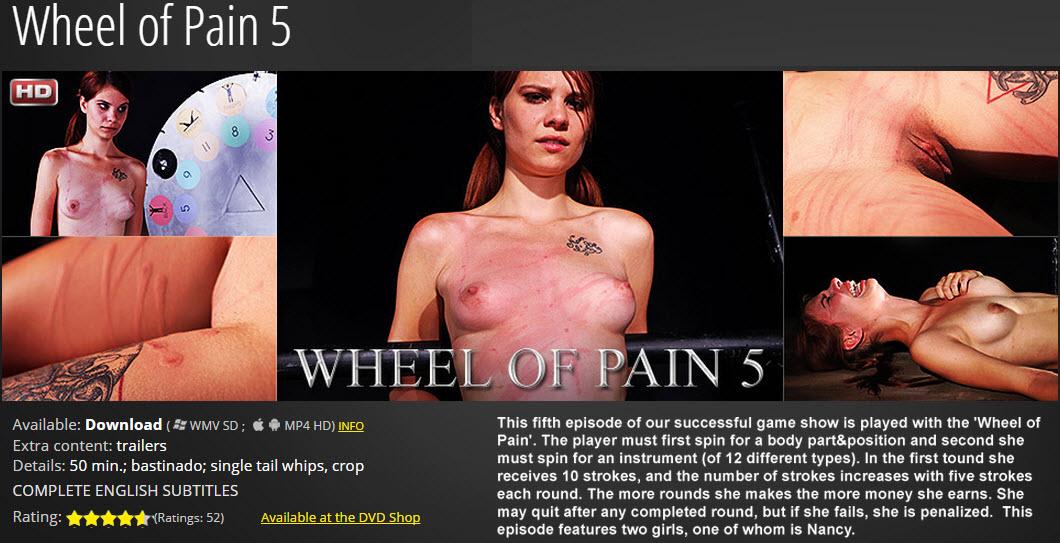 Elite pain wheel of pain