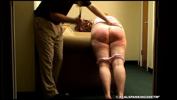 Amateur clip spanking